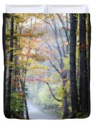 A Canopy Of Autumn Leaves Duvet Cover