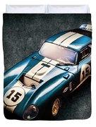 A Daytona Classic Duvet Cover