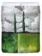 A Dream Of Peace Duvet Cover by Joel Tesch