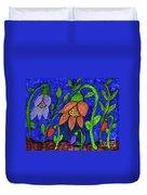A Flower Garden Duvet Cover