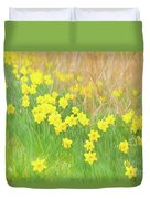 A Host Of Daffodils Duvet Cover