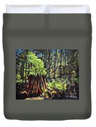 A Showcase In Forest Duvet Cover
