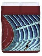 A Stadium Workout Duvet Cover