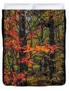 A Time In The Woods Duvet Cover