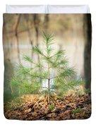 A Tiny Pine Duvet Cover