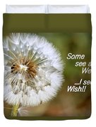 A Weed Or Wish? Duvet Cover