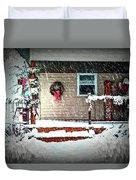 A Wisconsin Christmas Duvet Cover