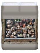 Abandoned Doll Heads Duvet Cover
