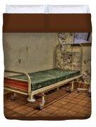 Abandoned Hospital Bed Duvet Cover