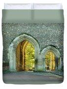Abbey Gateway St Albans Hertfordshire Duvet Cover