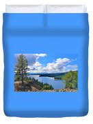 Above The Waters Duvet Cover
