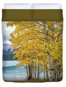 Abraham Lake Duvet Cover