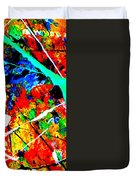abstract composition K12 Duvet Cover