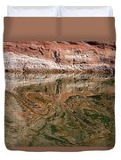 Abstract Reflections On Lake Powell Duvet Cover