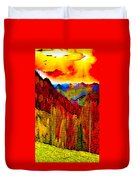 Abstract Scenic 3 Duvet Cover