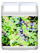 Abstract Summer Garden Duvet Cover