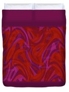 Abstract Waves Painting 0010080 Duvet Cover