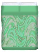 Abstract Waves Painting 0010092 Duvet Cover