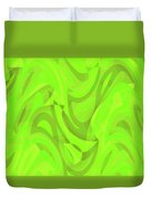 Abstract Waves Painting 0010093 Duvet Cover