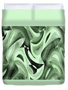 Abstract Waves Painting 0010095 Duvet Cover