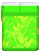 Abstract Waves Painting 0010099 Duvet Cover
