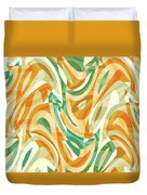 Abstract Waves Painting 0010105 Duvet Cover
