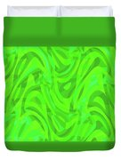 Abstract Waves Painting 0010106 Duvet Cover