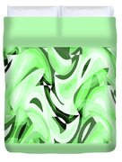 Abstract Waves Painting 0010108 Duvet Cover