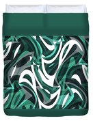 Abstract Waves Painting 0010112 Duvet Cover