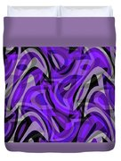 Abstract Waves Painting 0010115 Duvet Cover