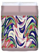 Abstract Waves Painting 0010118 Duvet Cover