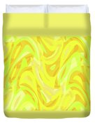 Abstract Waves Painting 0010121 Duvet Cover