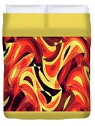 Abstract Waves Painting 007185 Duvet Cover