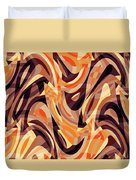 Abstract Waves Painting 007187 Duvet Cover