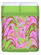 Abstract Waves Painting 007188 Duvet Cover