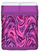 Abstract Waves Painting 007200 Duvet Cover