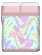 Abstract Waves Painting 007205 Duvet Cover
