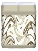 Abstract Waves Painting 007212 Duvet Cover