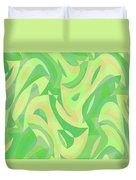 Abstract Waves Painting 007216 Duvet Cover