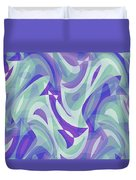 Abstract Waves Painting 007217 Duvet Cover