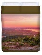 Acadia National Park Sunrise  Duvet Cover