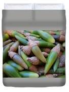 Acorn Harvest Duvet Cover