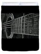 Acoustic Guitar Musician Player Metal Rock Music Strings Duvet Cover