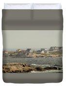 Across The Bay Duvet Cover
