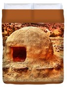 Adobe Stove Duvet Cover