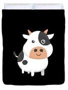 Adorable Cow Cute Baby Calf Duvet Cover