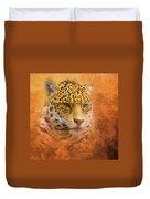 African Leopard Duvet Cover
