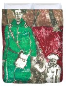 After Billy Childish Painting Otd 45 Duvet Cover