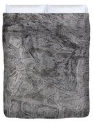 After Billy Childish Pencil Drawing 5 Duvet Cover