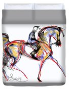 After The Derby Duvet Cover by Stacey Mayer